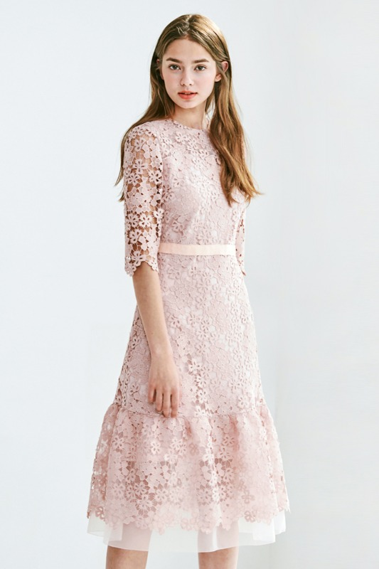 Mabel Dress (pink)