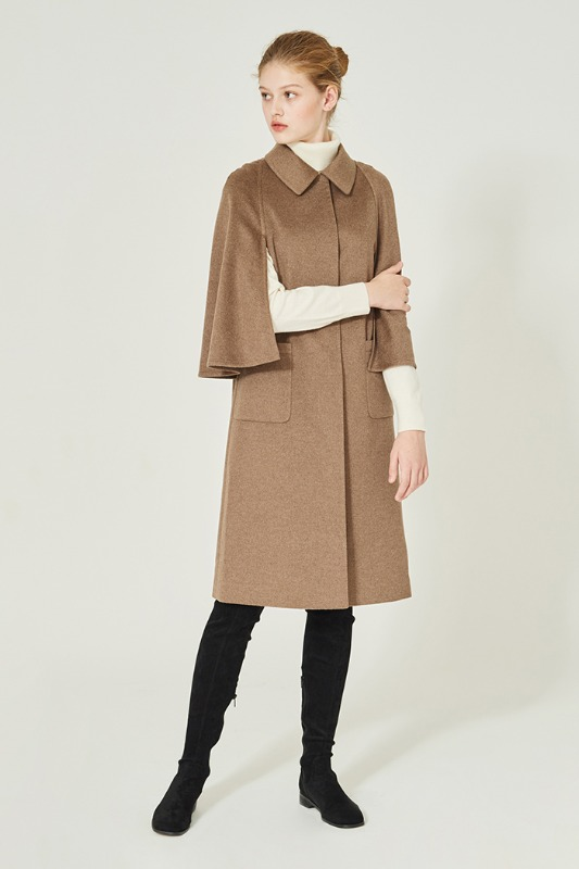Eugenny's Classic Cape-Coat (brown)