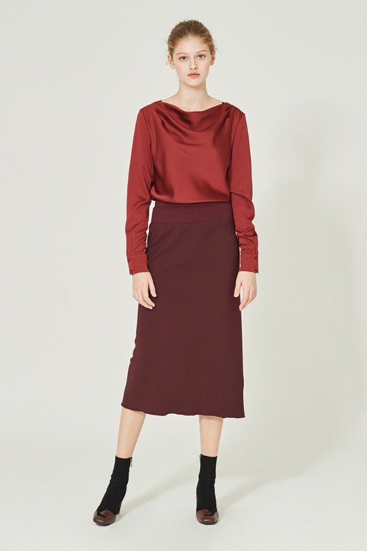 Lisa Skirt (burgundy)
